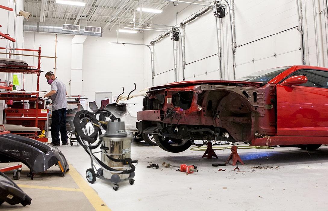 Automotive - Vacuum Sanding and Aluminum Collision Auto Body Repair